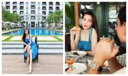 Hà Hồ - Kim Lý cùng nhau đăng ảnh gia đình hạnh phúc cuối tuần, nhan sắc của nữ ca sĩ khi bầu bí vẫn cực phẩm
