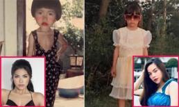 Sao Việt đăng ảnh tuổi thơ nhân ngày 1/6: Minh Tú đúng chất 'chị đại'; Hồ Ngọc Hà thần thái khỏi bàn