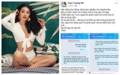 Dính tin đồn liên quan tới vụ Lương Bằng Quang bị hành hung, Yaya Trương Nhi lên tiếng, tiết lộ tin nhắn quan trọng với mẹ người yêu cũ
