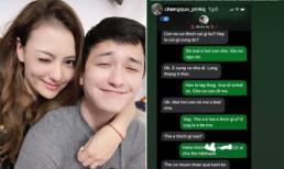 Tiếp tục lộ tin nhắn Hồng Quế với người đàn ông đặc biệt, nguy cơ chia tay Huỳnh Anh là khá cao