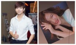 Tim đăng ảnh và nói yêu cô gái 'lạ mà quen' nhưng không phải Trương Quỳnh Anh