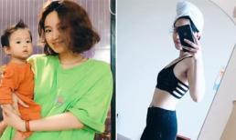 Sau 1 năm sinh con, Mi Vân tiết lộ giảm được gần 20 kg nhờ 'bóp mồm bóp miệng'
