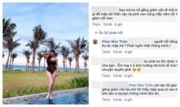 Lâu lắm mới đăng ảnh diện đồ tắm nóng bỏng, Phan Như Thảo lại bị chê: 'người nổi tiếng gì để mập dữ thần vậy'