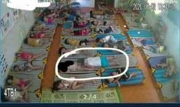 Yêu cầu xác minh vụ bé trai có hành động nhạy cảm với bé gái trong giờ ngủ trưa