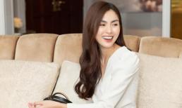 Hiếm hoi dự sự kiện, Hà Tăng diện đồ đơn giản vẫn nổi bần bật bởi thần thái ngọc nữ