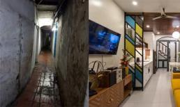 Cải tạo nhà phố cổ chỉ vỏn vẹn 24 m2 trong ngõ hẹp sâu hun hút thành không gian hiện đại