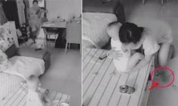 Thấy vợ lạnh nhạt sau sinh, chồng đặt camera quay lén, ai ngờ phát hiện ra sự thật rơi nước mắt