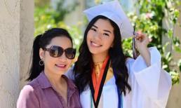 Hồng Đào khoe con gái út xinh đẹp, cao 1m7 vừa tốt nghiệp cấp 3 ở Mỹ