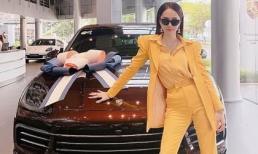 Hương Giang rước thêm xế hộp tiền tỷ khiến fan 'rần rần'