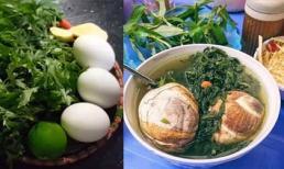 Cách hầm trứng vịt lộn ngải cứu, người gầy nhanh tăng cân, người bị mất ngủ, đau đầu cũng 'nhanh khỏi'
