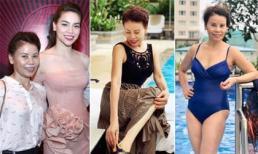Ngoài 60 tuổi, phong cách thời trang của mẹ Hồ Ngọc Hà sành điệu chẳng kém gì gái trẻ