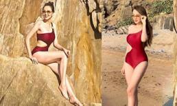 Lâu lắm rồi mới thấy Hoa hậu Diễm Hương đăng ảnh mặc bikini lên trang cá nhân