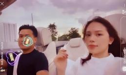 Phillip Nguyễn đưa Linh Rin tậu đồ hiệu rồi lái xe hóng mát
