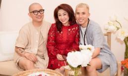 NTK Huỳnh Bảo Toàn và Phạm Sĩ Toàn ra mắt thương hiệu áo dài Song Toàn