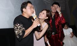 Trấn Thành nhắc nhở vợ ăn mặc quá sexy, Hari Won liên tục lau mồ hôi nịnh chồng