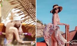 Hoa hậu Ngọc Hân được khen nức nở khi hiếm hoi đăng ảnh bán nude