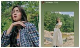 Hà Tăng xinh đẹp ngút ngàn trên tạp chí, Tiên Nguyễn có ngay động thái chứng tỏ mê tít nhan sắc chị dâu