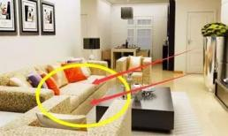 Không bao giờ đặt ghế sofa trong phòng khách như thế này! Những ông chủ giàu có không làm điều đó