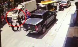 Một phụ nữ bị hành hung, bắt đi giữa ban ngày
