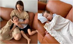 Con gái mệt và sốt cao, Lan Phương vẫn phải đi xa 5 đêm liền