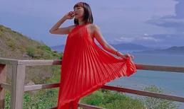 Tóc Tiên hiếm hoi diện váy áo rộng thùng thình, chủ động nhắc chuyện bầu bí