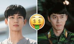 10 nam diễn viên xứ Hàn có cát-xê 'khủng' nhất hiện tại: Song Joong Ki gần cuối bảng, vị trí thứ nhất là ai?