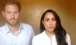 """Harry vừa đụng chạm đến vấn đề tuổi tác, Meghan liền """"nổi xung"""" khiến chồng muối mặt"""