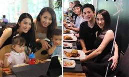 Mai Hồ và chồng Việt Kiều tổ chức sinh nhật 2 tuổi cho con gái