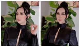 Lynk Lee tung ảnh diện váy xẻ ngực táo bạo, đổi style Tây quyến rũ