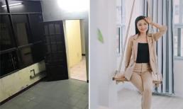 Cô em thân thiết với diễn viên Diệu Hương khoe thành quả cải tạo nhà kho trong 10 ngày