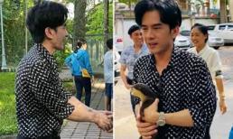 Đan Trường tặng thú cưng cho Thảo Cầm Viên: Ảnh chưa chỉnh sửa vẫn trẻ trung nhưng lại bị fan than 'gầy dơ xương'