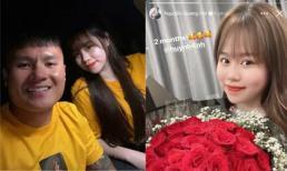 Sau scandal bị chỉ trích lăng nhăng, Quang Hải kỷ niệm 2 tháng yêu với Huỳnh Anh