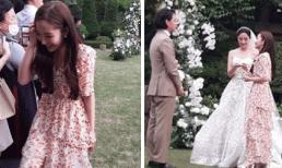 'Thư ký Kim' Park Min Young chiếm spotlight khi đi dự đám cưới nhà người ta