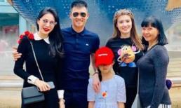 Con gái cưng tập đàn và hát bài mới, Thuỷ Tiên 'ngất lịm' khi nghe tên bài hát