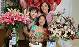 Việt Hương kỉ niệm 14 năm ngày cưới bên ông xã và con gái cực ngọt ngào