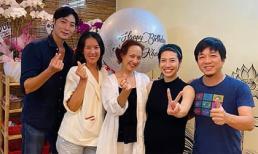 NSND Lê Khanh mừng tuổi mới, khoe nhan sắc ở tuổi 57