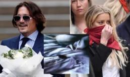 Johnny Depp tiết lộ vợ cũ Amber Heard 'đại tiện' trên giường, hình ảnh nữ thần Hollywood bị phá hủy?