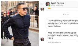 Dùng chùa hình ảnh, Vũ Khắc Tiệp bị nhiếp ảnh gia nước ngoài report Instagram