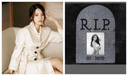 Nửa đêm, Jolie Nguyễn bất ngờ đổi avatar đen, có ý định tự tử vì áp lực dư luận