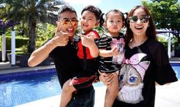 Khánh Thi - Phan Hiển đưa hai con ra resort sang trọng tổ chức sinh nhật, khoe clip diện đồ tắm đôi nhảy cực sung
