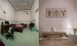 'Hô biến' phòng ngủ bí bách thành không gian tươi mới, đáng sống