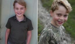 Hoàng tử George gây bất ngờ với vẻ ngoài đẹp trai và lớn bổng trong bức ảnh mới nhất mừng sinh nhật tròn 7 tuổi