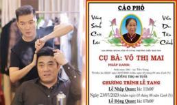 Mẹ đạo diễn Trần Vi Mỹ qua đời, Đàm Vĩnh Hưng cùng loạt sao Việt gửi lời chia buồn