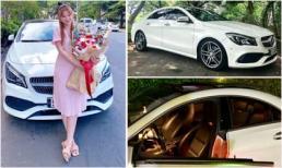 Chuẩn bị sinh con cho chồng trẻ, ca sĩ Thu Thủy quyết định rao bán xế hộp Mercedes-Benz