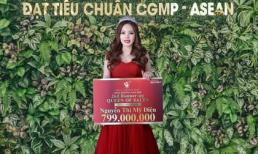 Từ vịt hóa thiên nga, Nguyễn Thị Mỹ Diện trở thành tân Á Hoàng Sales Top White với tổng giải thưởng 799.000.000đ