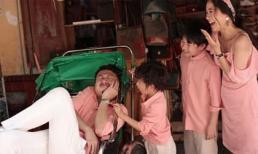 Lâm Vỹ Dạ và Hứa Minh Đạt cùng chia sẻ bộ ảnh gia đình ngọt ngào