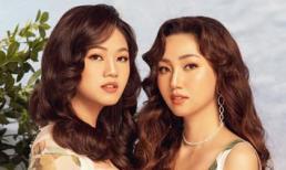 Hậu giảm cân thành công, chị em Á hậu Ngô Trà My - Thanh Tú khoe sắc đẹp hơn hoa
