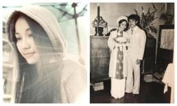 Kim Hiền đăng ảnh cưới hiếm hoi thời trẻ của ba mẹ, nhan sắc đúng 'không phải dạng vừa'