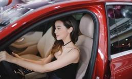 Cao Thái Hà tậu xế hộp mới Mercedes-Benz tiền tỉ