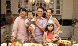 Hoàng Bách xúc động đến bật khóc khi đón sinh nhật tuổi 40 bên gia đình, bạn bè